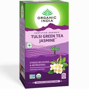 Bilde av Organic India Tulsi Green Tea Jasmine 25 poser