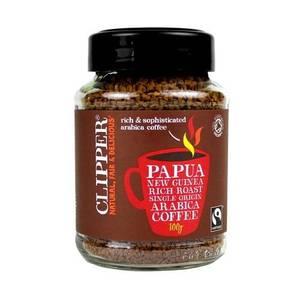 Bilde av Clipper Coffee Papua New Guinea Arabica pulverkaffe 100g
