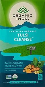 Bilde av Organic India Tulsi Cleanse Tea 25 poser