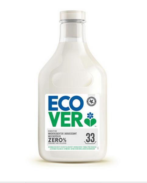Ecover ZERO Tøymykner skyllemiddel 1 liter duftnøytralt