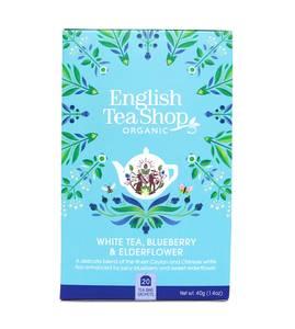 Bilde av English Tea Shop White Tea Blueberry & Elderflower 20 poser
