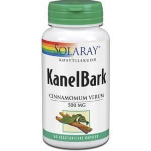 Bilde av Solaray KanelBark 500 mg 60 kapsler