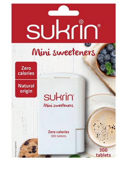 Sukrin Mini Sweeteners 300 stk