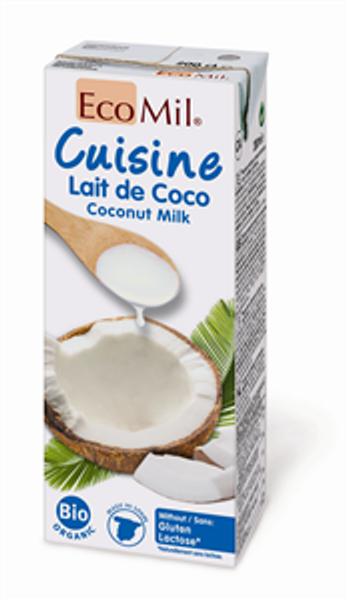 EcoMil Kokosmatfløte naturell 200 ml