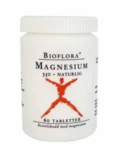 Bilde av Kloster Bioflora Magnesium 350 mg 60 tabletter
