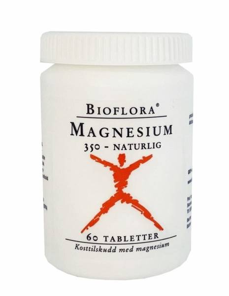 Kloster Bioflora Magnesium 350 mg 60 tabletter