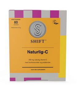 Bilde av SHIFT Naturlig-C 200 mg 80 tabletter